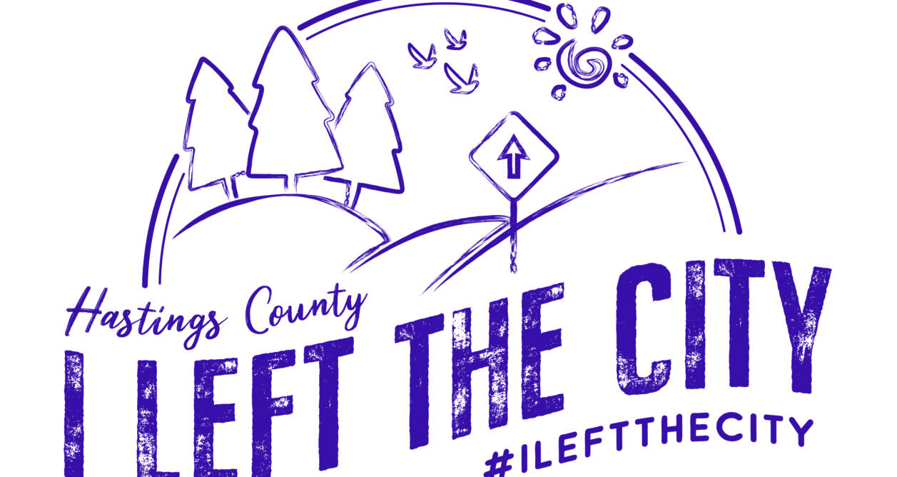 I left the city podcast logo