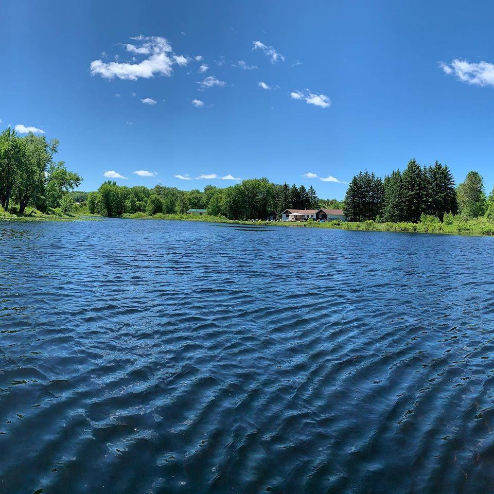 Photo of a lake